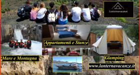 Campeggio Gole Alcantara Mini Glamping Lanternavacanze Motta Camastra